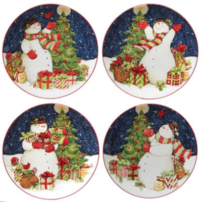 Certified International Starry Night 4-pc. Dinner Plate