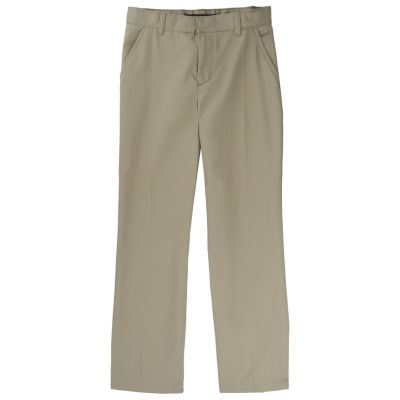 French Toast Relaxed Fit Twill Pant- Boys Slim