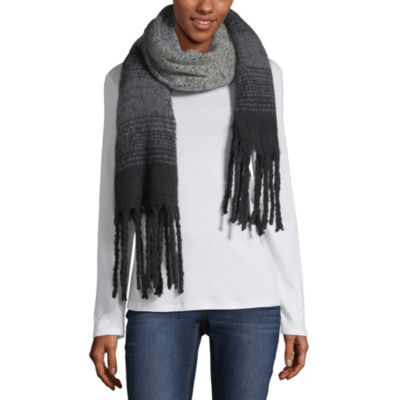 City Streets Cold Weather Fringe Scarf