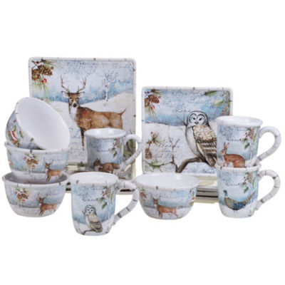 Certified International Winters Lodge 16-pc. Dinnerware Set