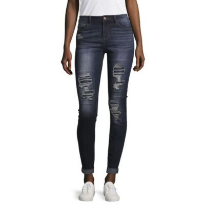 Vanilla Star Original Fit Ripped Jeans-Juniors