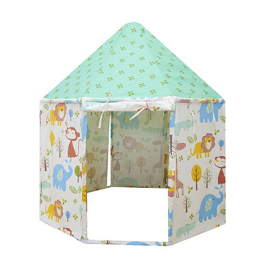 Asweets Animal Kingdom Pavilion Indoor Canvas Playhouse Play Tent For Kids
