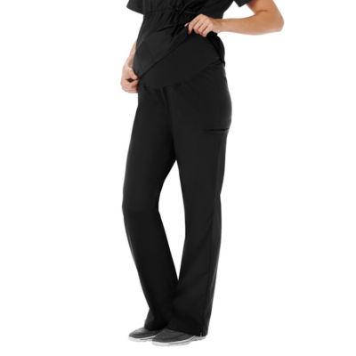White Swan Fundamentals Womens Scrub Pants-Maternity - Plus