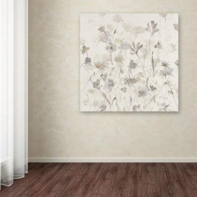 Trademark Fine Art Avery Tillmon Garden Shadows IVGiclee Canvas Art