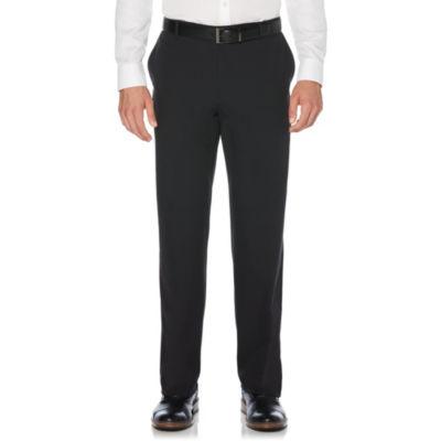 Savane Mens Straight Fit Flat Front Pant