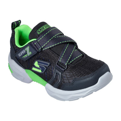Skechers Techtronix Boys Walking Shoes Elastic - Little Kids