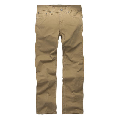 Levi's 511 Sueded Pant Boys Flat Front Pant-Big Kid Husky