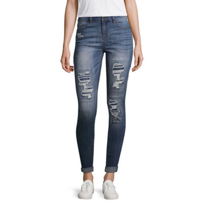 Vanilla Star Ripped Jeans-Juniors