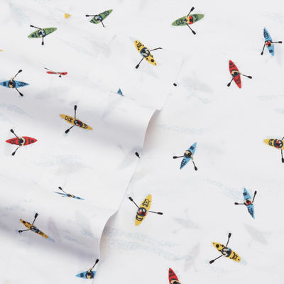 Eddie Bauer Kayaks Sheet Set