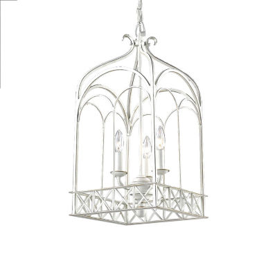 Smithsonian Gateway 3-Light Pendant in French White
