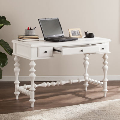 Home Decor Collections Huntleigh Turned-Leg Writing Desk