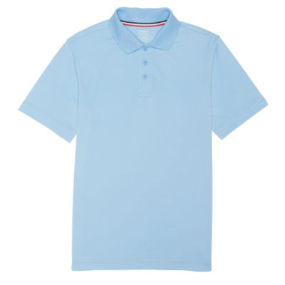 French Toast Boy's Short Sleeve Stretch Uniform Sport Polo