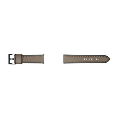 Samsung Galaxy 46mm Compatible Mens Brown Leather Watch Band-Gp-R765breeaaa