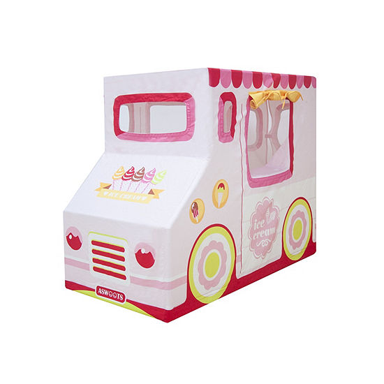 Ice Cream Truck Indoor Canvas Playhouse Play Tent For Kids