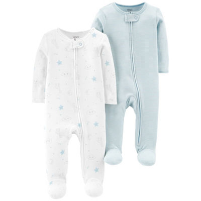 Carter's Little Baby Basics 2pc Jumpsuits- Boys