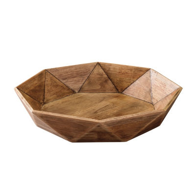 Signature Design By Ashley® Corin Octoganal Wood Tray