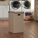 Household Essentials Collapsible 1 Compartment Laundry Hamper