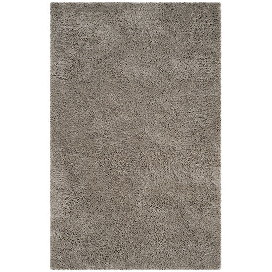 Safavieh Florence Shag Collection Douglas Solid Area Rug