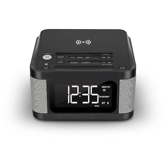 iLive Platinum ICQ988B Wireless Alarm Clock Radio