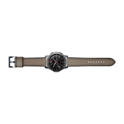 Samsung Gear S3 Compatible Unisex Brown Watch Band-Gp-R765breeaaa