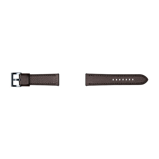 Samsung Gear S3 Compatible Unisex Adult Brown Leather Watch Band-Gp-R765breeaab