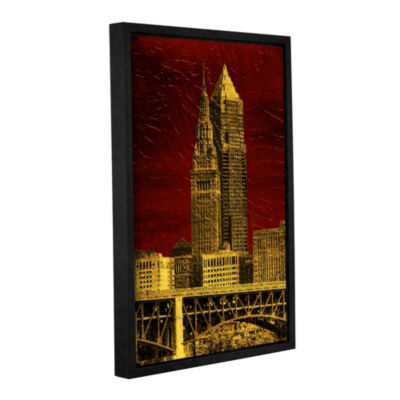 The Land Floater-Framed Gallery Wrapped Canvas