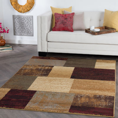 Tayse Elegance Augusta Rectangular Indoor Area Rug