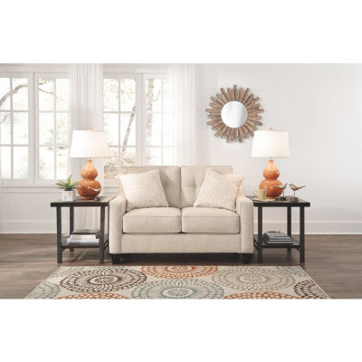 Signature Design By Ashley® Aldie Nuvella Loveseat