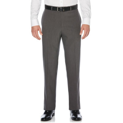 Savane Straight Fit Flat Front Pants