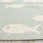 Safavieh Courtyard Collection Virginia Geometric Indoor/Outdoor Area Rug