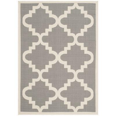 Safavieh Courtyard Collection Asa Geometric Indoor/Outdoor Area Rug