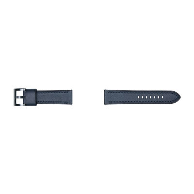 Samsung Galaxy 46mm Compatible Mens Blue Leather Watch Band-Gp-R765breeaac