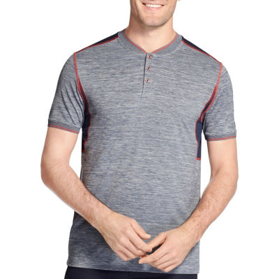 IZOD Short Sleeve Collar Neck T-Shirt