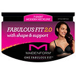 Maidenform One Fabulous Fit™ 2.0 Tailored Underwire T-Shirt Demi Bra-Dm7543