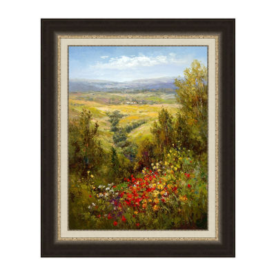 In The Distance Framed Print