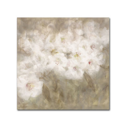 Trademark Fine Art Li Bo Wild Flowers I Giclee Canvas Art