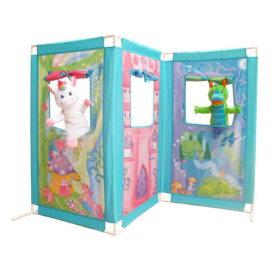 Fun2Give Pop-It-Up Fairytale Zig Zag Puppet Theatre