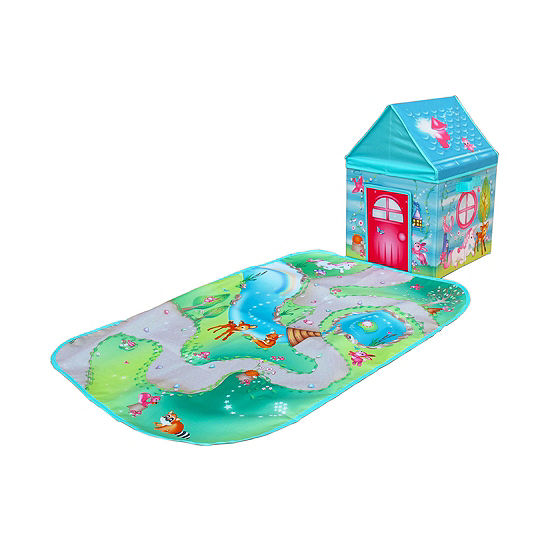 Pop-It-Up Enchanted Forest Combo Set Play Box With Play Mat  & Coloring Set