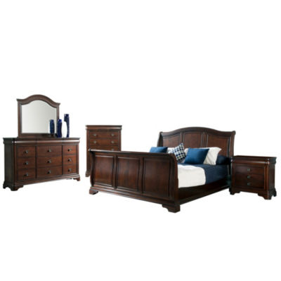 Picket House Furnishings Conley Sleigh 5 Pc. Bedroom Set