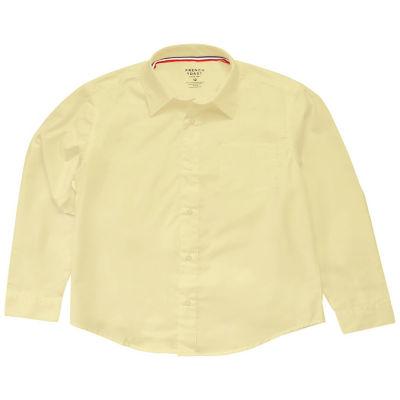 French Toast Boys 4-20 Long Sleeve Uniform Oxford Dress Shirt- Regular & Husky
