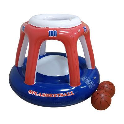 RhinoMaster Play Blow Up Splashketball - Inflatable Basketball Pool Game