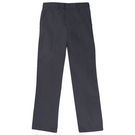 French Toast Uniform Relaxed Fit Workwear Finish Pant- Boys 10-20 Husky