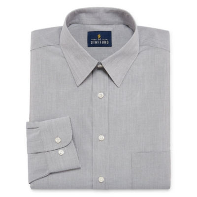 Stafford Travel Stretch Performance Super Shirt Long-Sleeve Dress Shirt