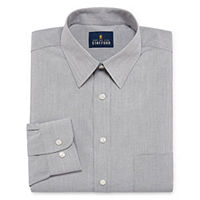 Stafford Super Shirt Dress Shirt with Comfort Stretch Deals