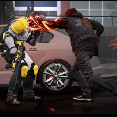 Playstation 4 Infamous: Second Son - Playstation Hits Video Game