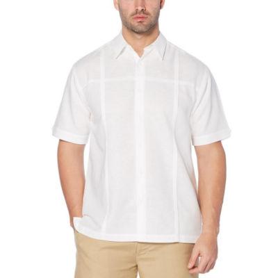 Cubavera Short Sleeve Button-Front Shirt