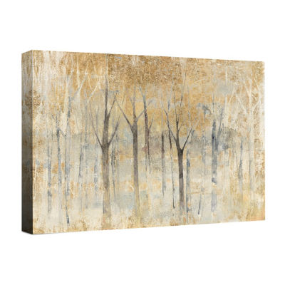 Seasons End Gold Canvas Art