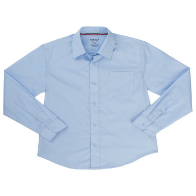 French Toast Long Sleeve Classic Uniform Dress Shirt- Toddler Boy 2T-4T