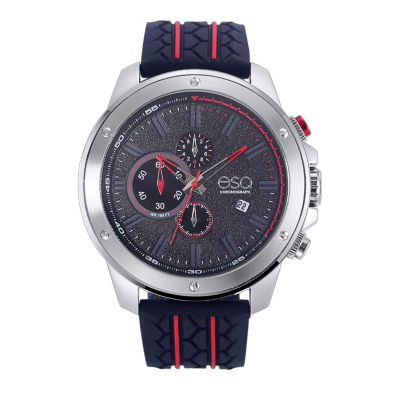 Esq Mens Black Strap Watch-37esq019201a