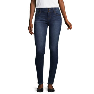 Blue Spice Womens High Waisted Jeggings - Juniors
